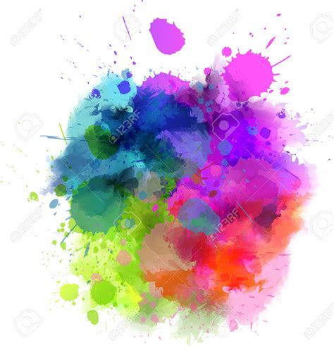 color splash splatter clipart watercolor pencil and in color splatter