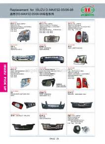 Isuzu Dmax Spare Parts Car Parts Name For Isuzu Dmax Door Buy Car Parts