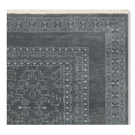 chandelier rug chandelier knotted rug blue williams sonoma