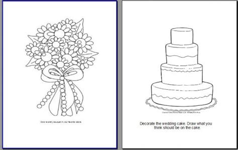 wedding activity book for template my version of a activity book pic heavy