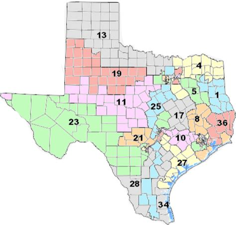 texas redistricting map texas gop used redistricting to destroy voting power 171 newstaco