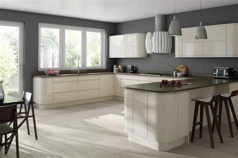 cream gloss kitchen ideas glossy cream kitchen cabinets google search ideas for
