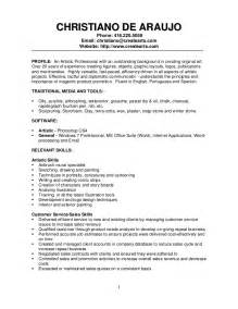 Commercial Painter Resume Sample profile traditional media