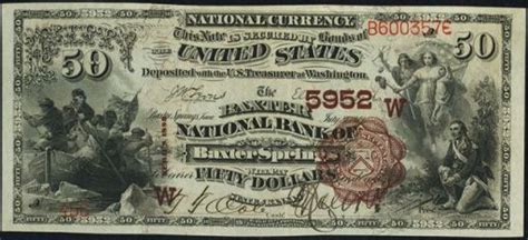 50dollar sew in new orleans louisiana old money from the whitney national bank of new orleans