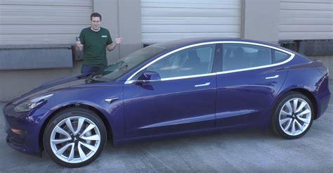 blue reviews tesla model 3 review auto journalist calls it quot coolest