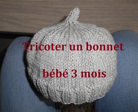 Modele Tricot Bonnet Bébé Facile Gratuit