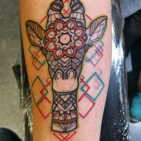 giraffe tattoo behind ear 120 best giraffe tattoo designs meanings wild life on