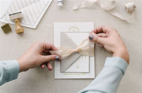 how to assemble wedding invitations q a what s the proper way to assemble wedding