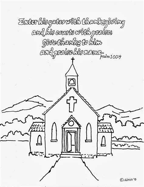 coloring pages church preschool psalms coloring page for kids bing images kids