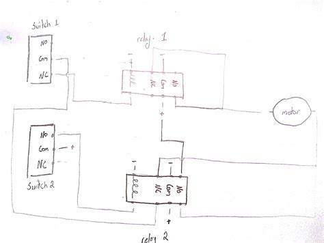 9 pin latching relay wiring diagram schematic wiring
