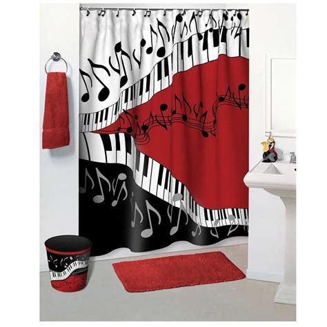 curtains soundtrack shower curtains that let your personality shine