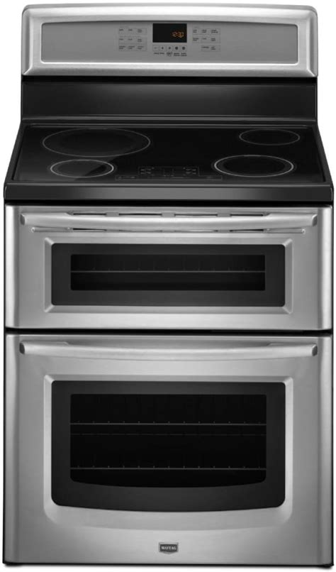 maytag mitbs   freestanding induction double