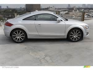 Silver Audi Tt Silver Metallic 2009 Audi Tt 2 0t Coupe Exterior Photo