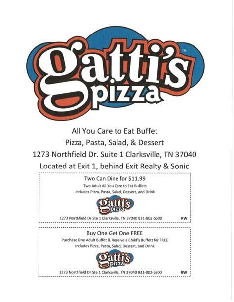 enjoy gatti s pizza in clarkville tennessee