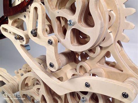 colibri  organic motion sculpture