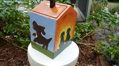 dog house urn handmade custom dog house urn by odyssey arts custommade com