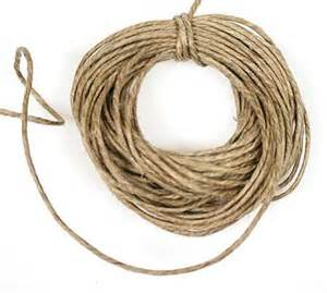 Beading And Jewelry Making Supplies - all natural hemp twine wire string basic