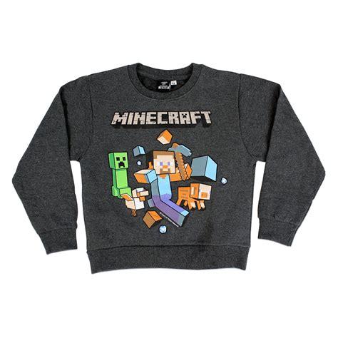 Sweater Minecraft Logo Hitam id 233 es cadeaux minecraft jcsatanas frjcsatanas fr