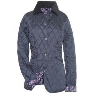 barbour jacket quilted