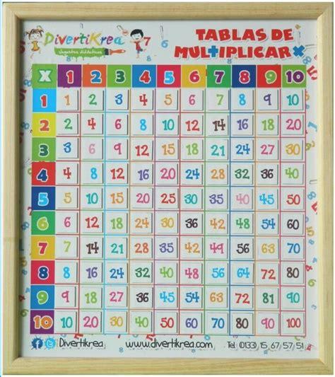 tablas de multiplicar tumblr juguete did 225 ctico tablas de multiplicar imanes para ni 241 os