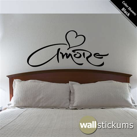 heart bedroom wallpaper amore wall decal love heart bedroom from wallstickums my most
