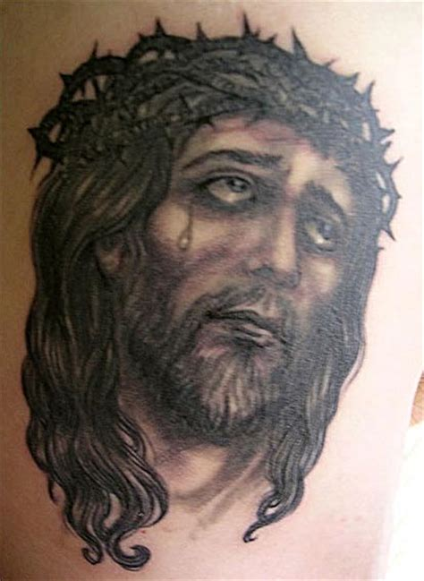 black jesus tattoos jesus images designs