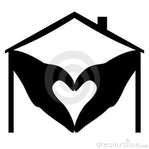 Interior Health Home Care home heart logo stock photo image 17182230