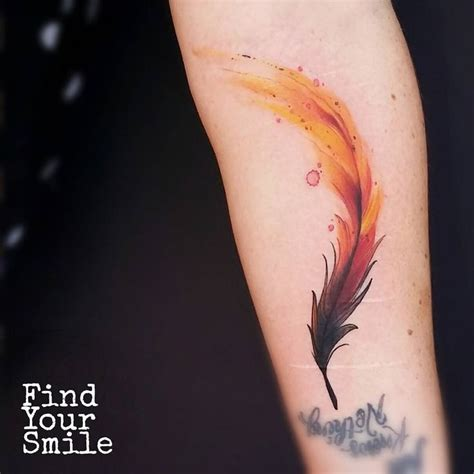 phoenix feather tattoo 21 best images on draw