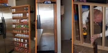 how to diy space saving pull out pantry cabinet