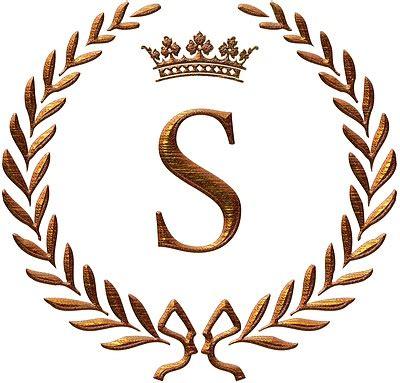 napoleon initial letter  monogram invitations sezz