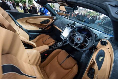 mclaren supercar interior mclaren 570s spider convertible to boost supercar maker s