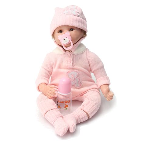 458 Baby Dolls Hearts silicone reborn baby doll lifelike toys for children gift mu ecas alex nld