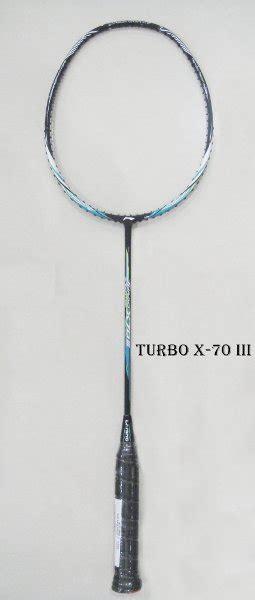 Raket Lining Turbo X 70 jual raket badminton li ning turbo x 70 iii blk di lapak mpl sport mplsportmusic