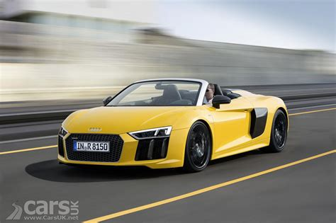 Audi R8 2017 by 2017 Audi R8 V10 Spyder Cars Uk