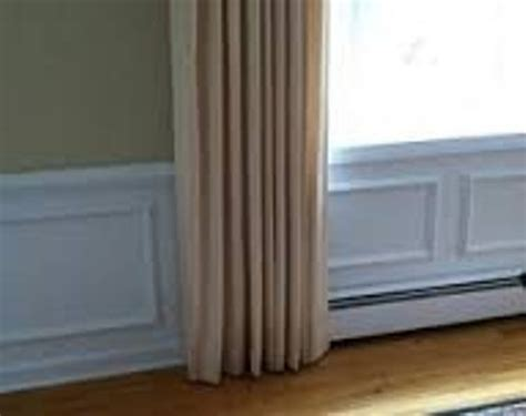 curtains over heater how to arrange furniture around baseboard heaters 5