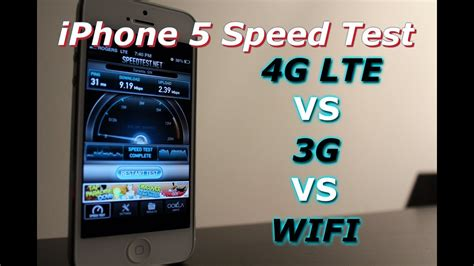 iphone   lte    wifi youtube