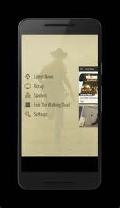 undead walking s the walking dead app now available for android - Walking App For Android