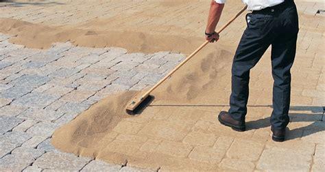 patio jointing sand polymeric sand and paver sand
