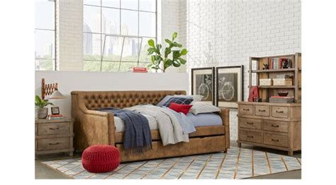 boulder chocolate 4 pc full poster bedroom boys bedroom brown twin beds for kids