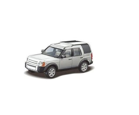 Rastar Land Rover Discovery 3 Silver 1 43 Scale Diecast Model Car 1 1 43 land rover discovery 3 rastar 36700