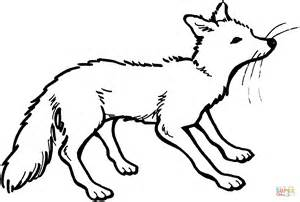 Vixen Coloring Page Free Printable Coloring Pages White Fox Coloring Page