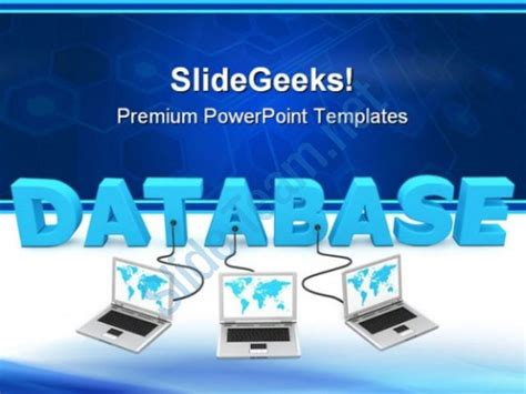 free computer themes for powerpoint 2007 database networking computer powerpoint templates and