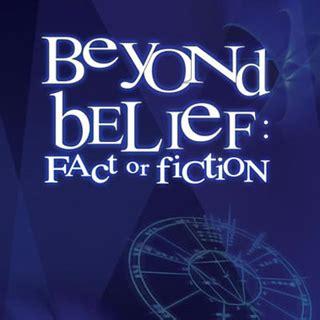 episode data beyond belief