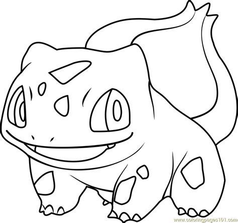 Pokemon Coloring Pages Bulbasaur | pokemon bulbasaur coloring pages images pokemon images