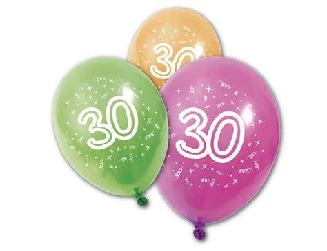 hochzeit 30 jahre 8 luftballons 30 jahre partydeko und g 252 nstige