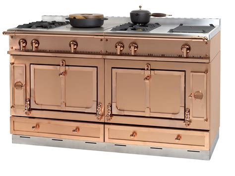 copper kitchen appliances stainless steel cooker ch 194 teau 150 by la cornue
