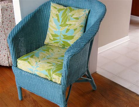 Painting Rattan Furniture by Teal Blue Chalk Paint Upwithfurniture