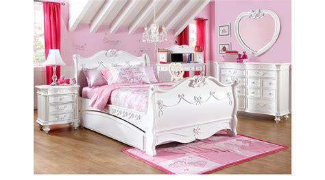 disney princess sleigh bedroom set disney princess white 5 pc full sleigh bedroom