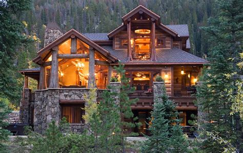 mountain home plans with photos colorado custom mountain home architects bhh partners