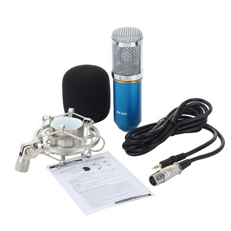 Mic Bm 800 bm 800 condenser microphone mic for studio recording with